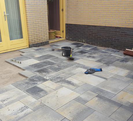 Aanleggen patio Hilversum | Klusbedrijf Gouda