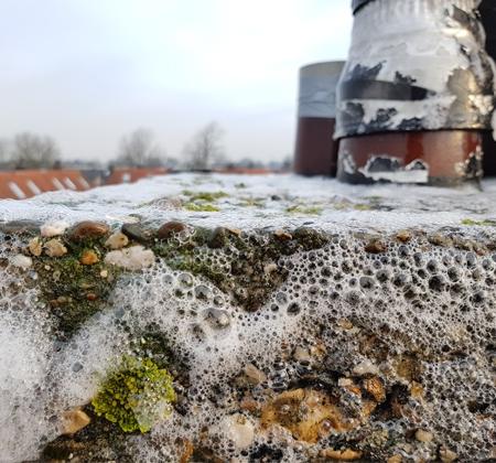 Gevelreiniging schoorsteen   Klusbedrijf Gouda