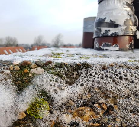 Gevelreiniging schoorsteen | Klusbedrijf Gouda
