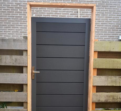 Poortdeur plaatsen Waddinxveen | Klusbedrijf Gouda