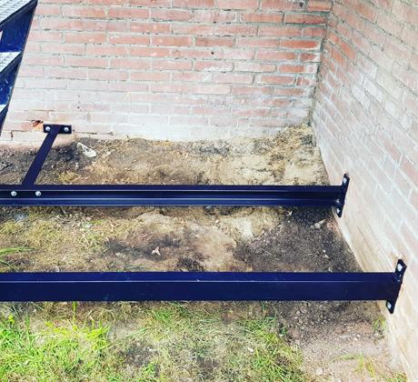 Stalen frame monteren Gouda | Klusbedrijf Gouda