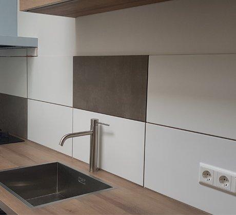 Tegelwerk achterwand keuken | Klusbedrijf Gouda